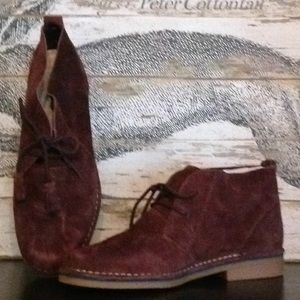 Hush puppies suede boot